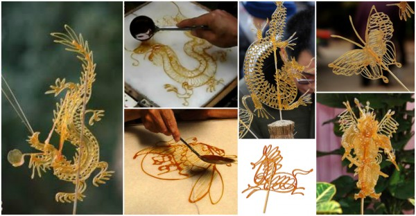 Chinese Sugar Painting