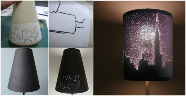 City Lights Lamp Shade