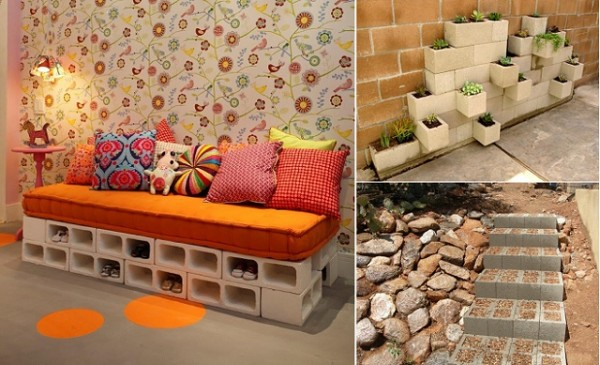 Creative Ways To Use Cinder Blocks