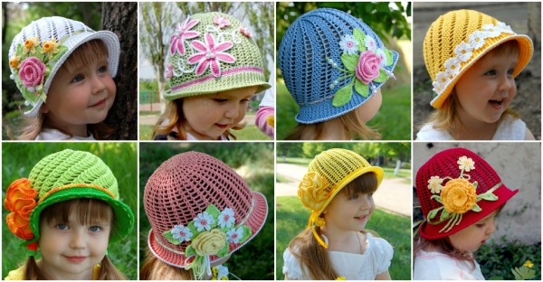 Cute Crochet Hat  Free Pattern 1