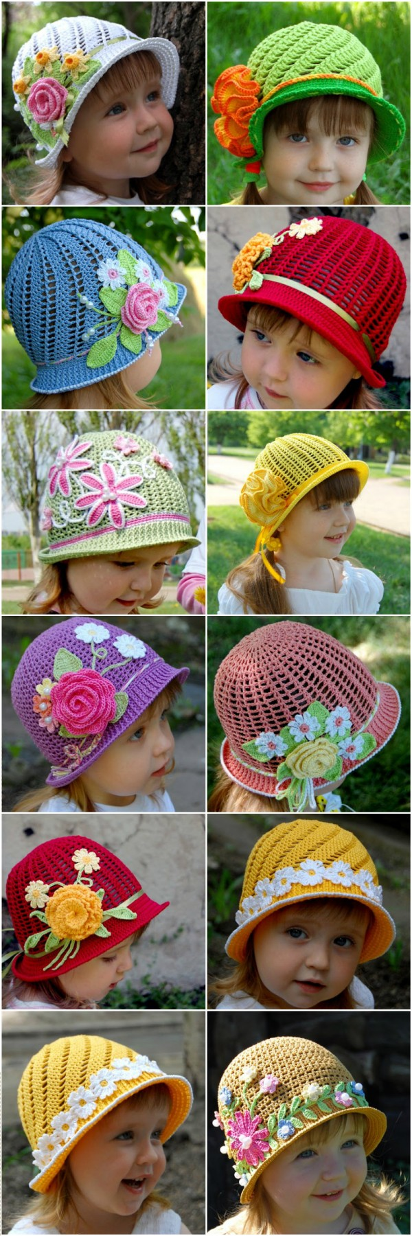 Cute Crochet Hat  Free Pattern 2