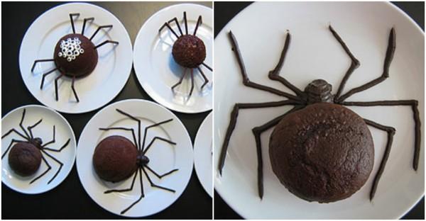 DIY Spider Cakes