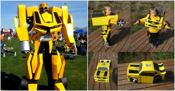 Diy transformer costume how to instructions diy transformer costume solutioingenieria Choice Image