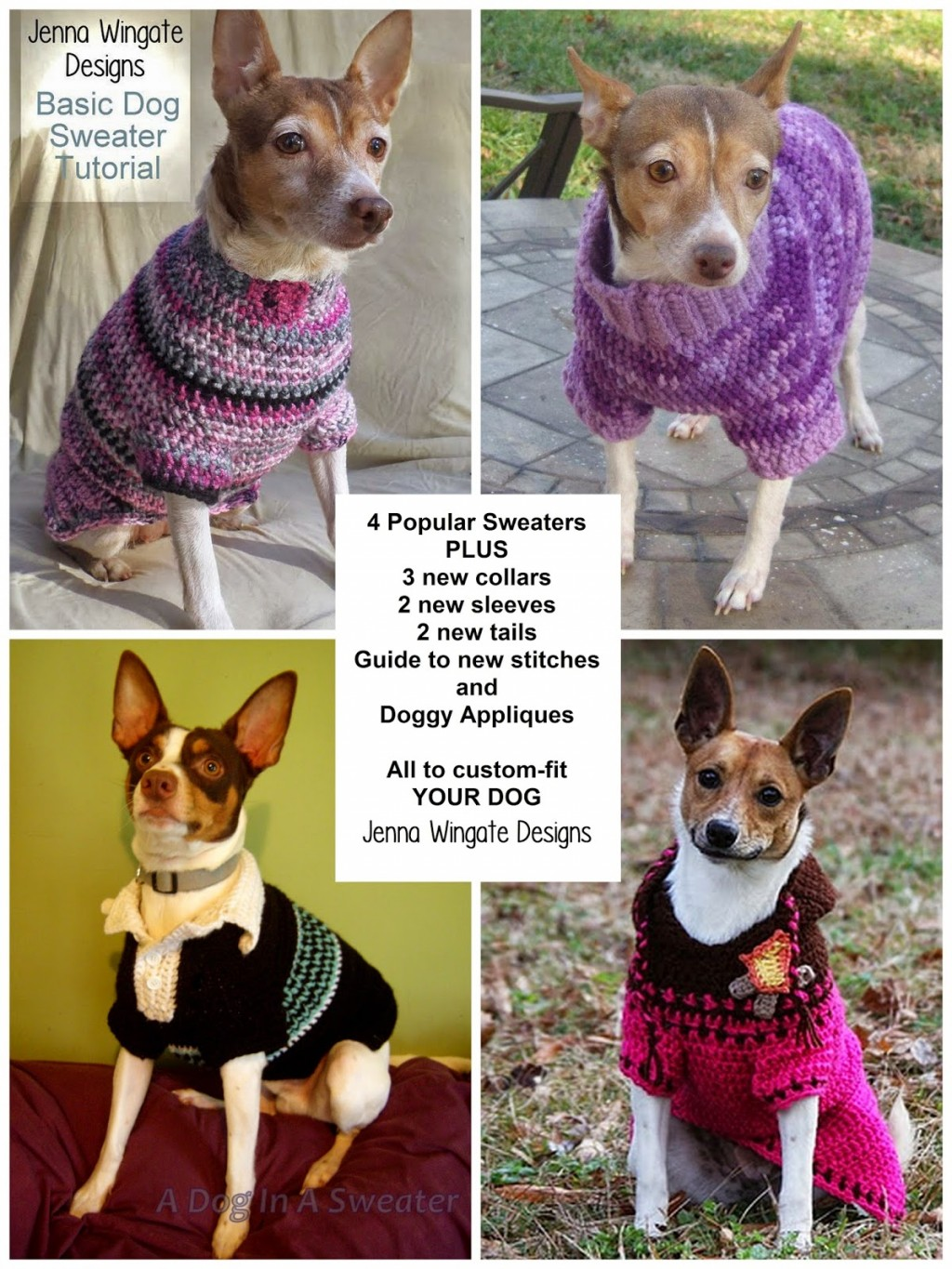 Dog Sweater Crochet Pattern 1