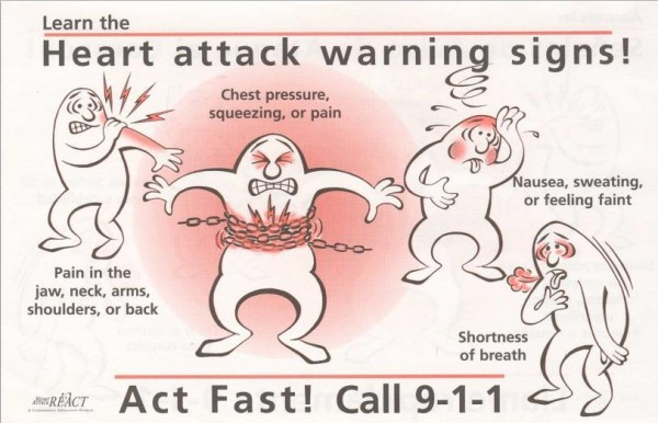 Early Warning Signs Of A Heart Attack