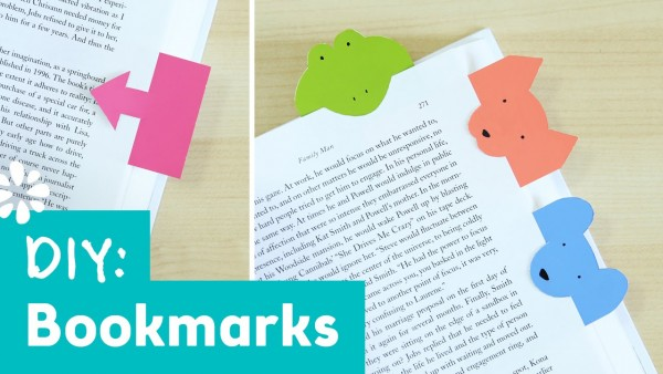 Easy And Cute DIY Bookmarks