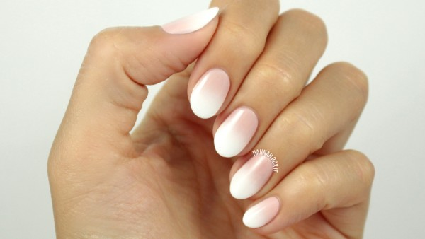 Easy Faded French Manicure Video Tutorial
