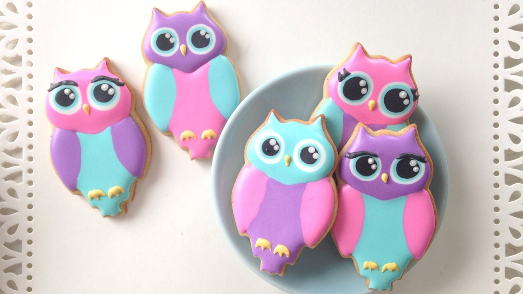 How To Decorate Cute Owl Cookies
