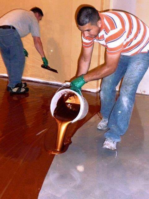 How To Install Metallic Epoxy Floors 2