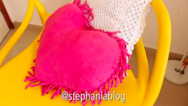 How To Make A Heart Pillow From A T-shirt