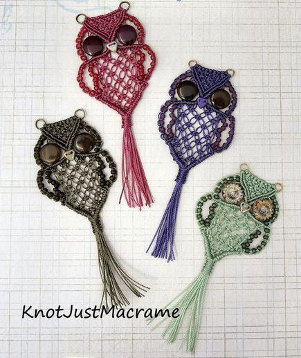 How To Make Macrame Owls 2