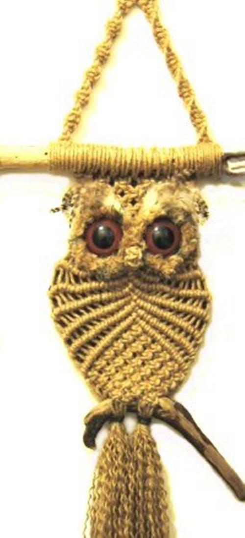 How To Make Macrame Owls 3