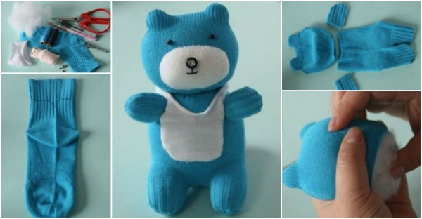 How To Make Sock Teddy Bear