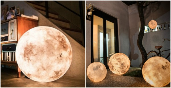 Luna - The Ultimate Lamp That Looks Like a Moon