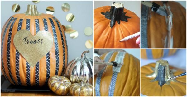 Stripped Pumpkins 1