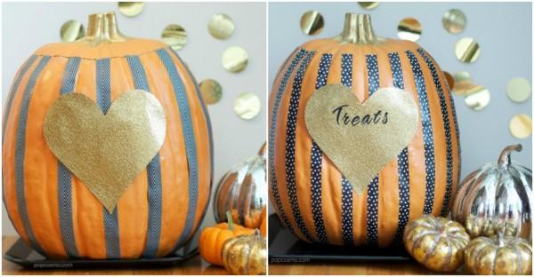 Stripped Pumpkins