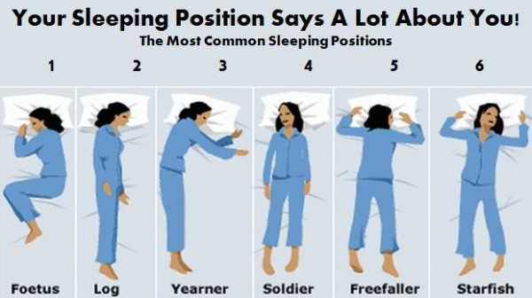 Your Sleeping Position Says A Lot About You