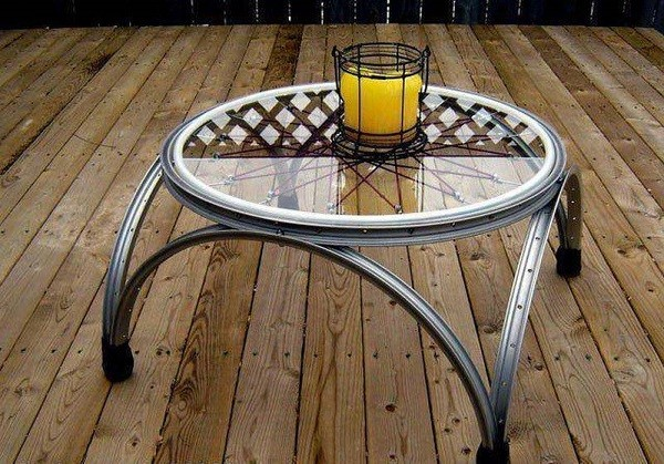 Bicycle Coffee Table Designs 2