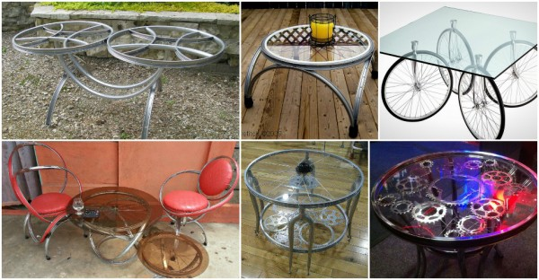 Bicycle Coffee Table Designs