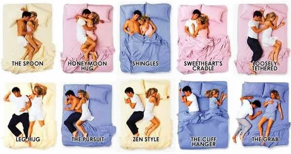 Couple Sleeping Positions