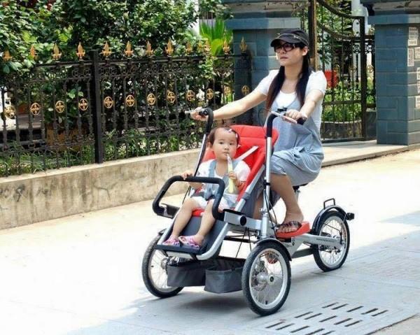 Creative Bike Stroller 2
