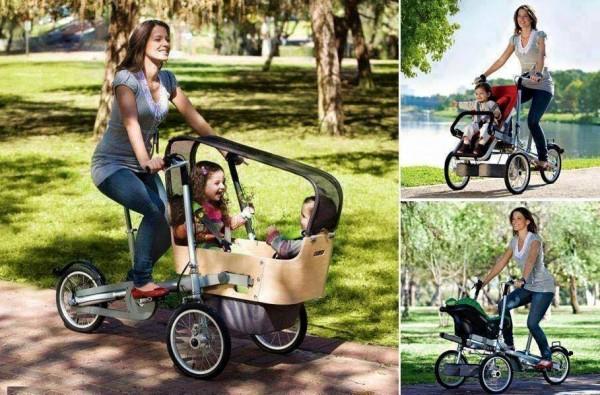 Creative Bike Stroller 3