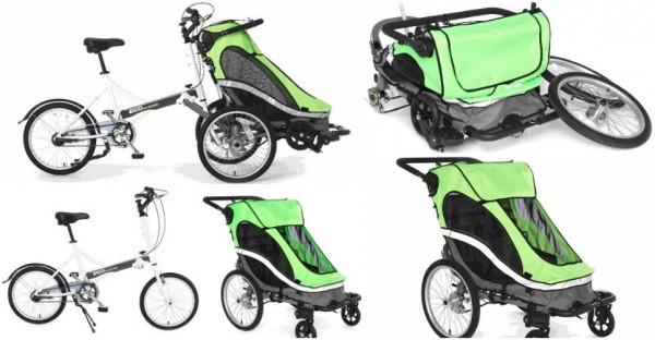 Creative Bike Stroller