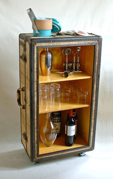 Creative Ways To Recycle Vintage Suitcases 3