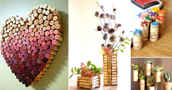 Creative Wine Cork Craft Projects