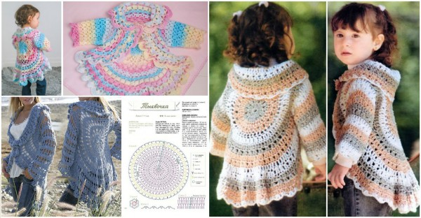 Crochet Jacket Pattern How To Instructions