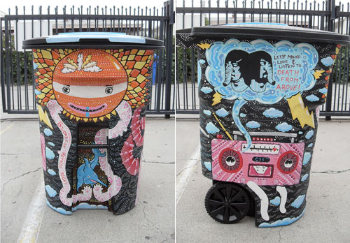 Garbage Can Art Ideas 1
