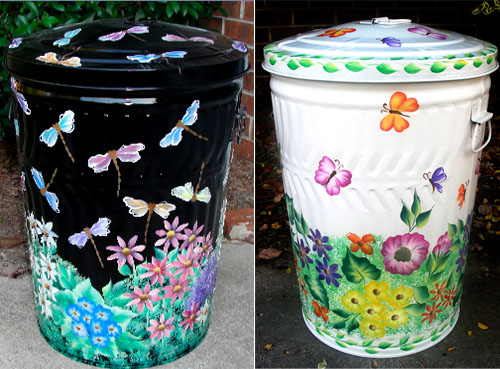 Garbage Can Art Ideas 5