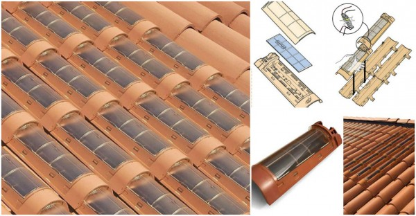Green Energy From Solar Roof Tiles