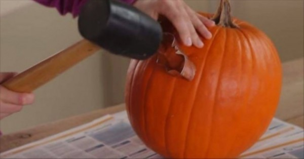 How To Carve A Pumpkin With A Cookie Cutter