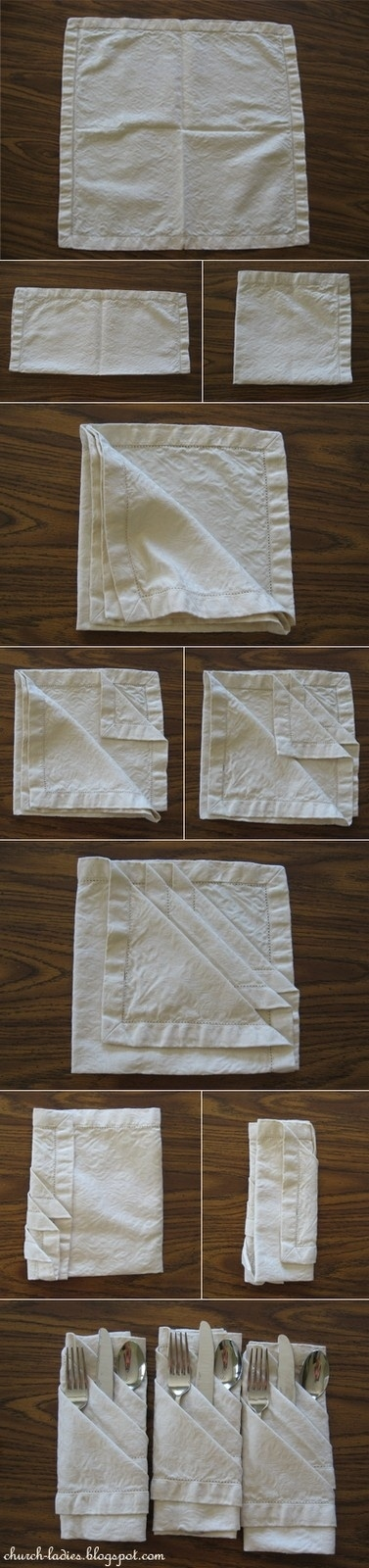 How To Fold A Napkin 1