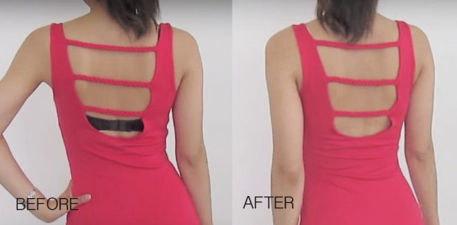 How To Make A DIY Backless Bra