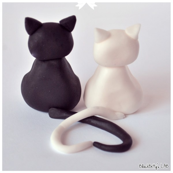 How To Make Cute Clay Kitty Cats 1