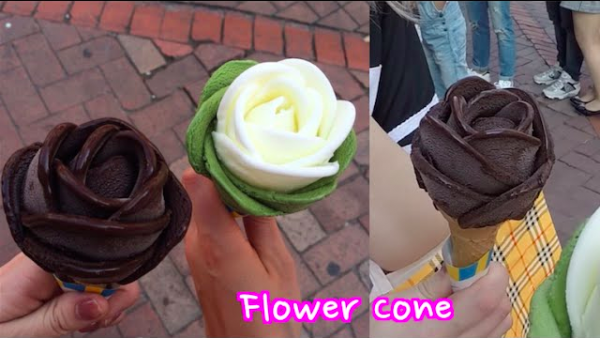 How To Make Ice Cream Cone Flowers 2