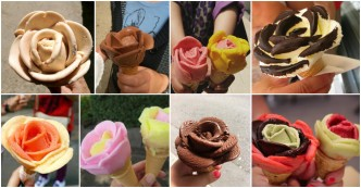 How To Make Ice Cream Cone Flowers