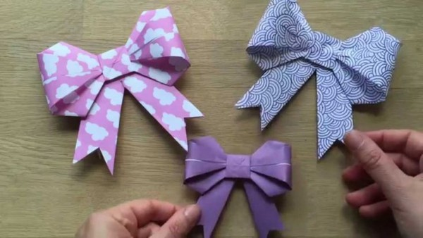 How To make Paper Bow Tie Kirigami