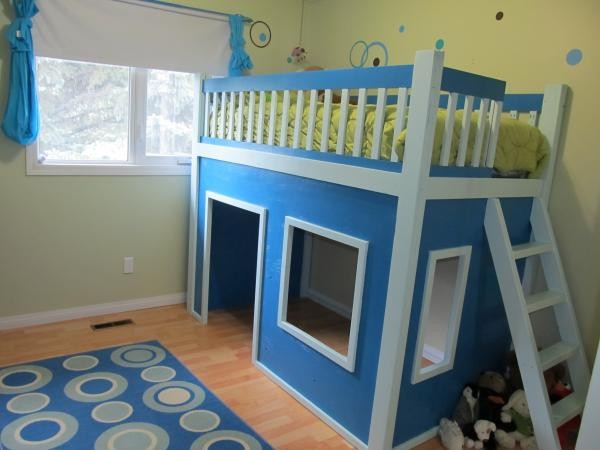How To Make A Playhouse Loft Bed