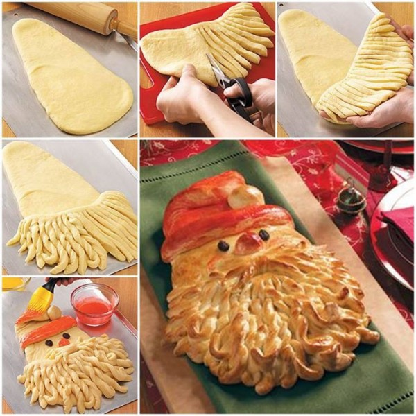 Santa Bread Recipe 1