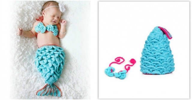 Baby Mermaid Costume 5
