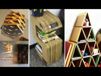 Step by step instructions on how to make everything part 5 for Recycled room decoration crafts