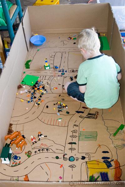 Cardboard Toy Field