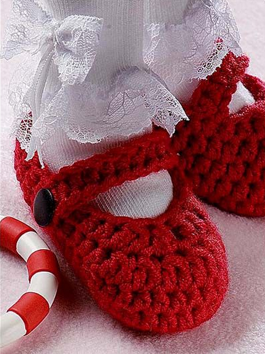 Christmas Baby Slippers