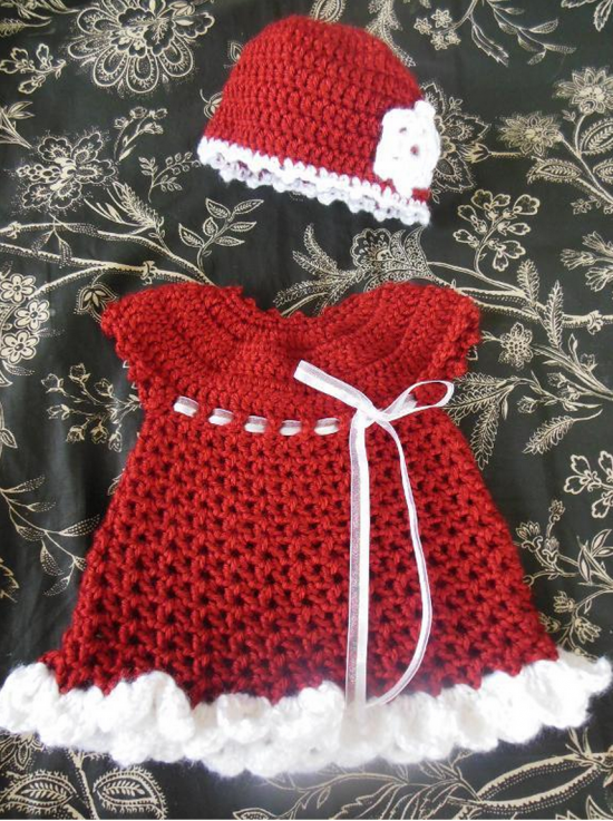 Christmas Infant Dress