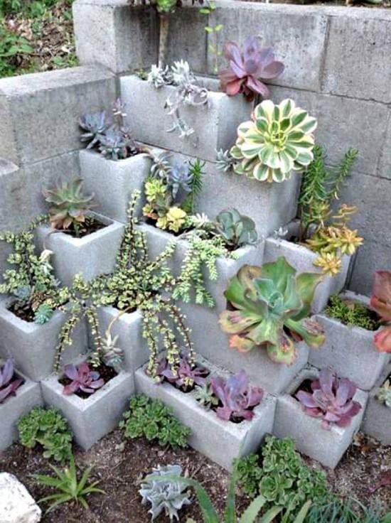 Cinder Block Gardens