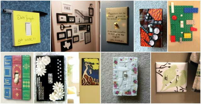 Creative Ways To Decorate Your Light Switches