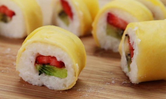 why fruits are healthy fruit sushi